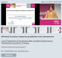 欧洲 乳腺癌大会(EBCC)讲课内容荟萃—术前全身治疗反应良好的乳房局部治